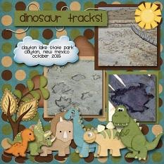 Layout made by Faith using Dino Collection by Charly Renay