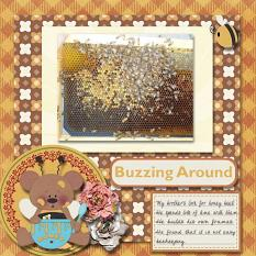 Layout made by Nancy using Honey Bee Collection