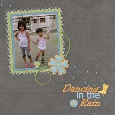 Layout By Aruna using Rainy Day Solids
