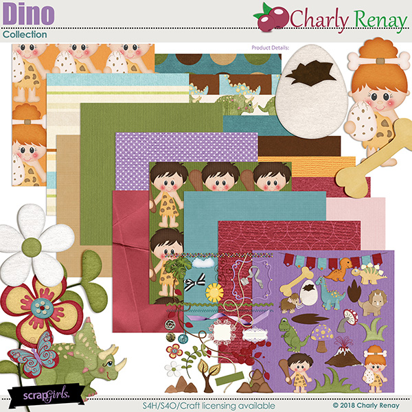 Dino Collection By Charly Renay