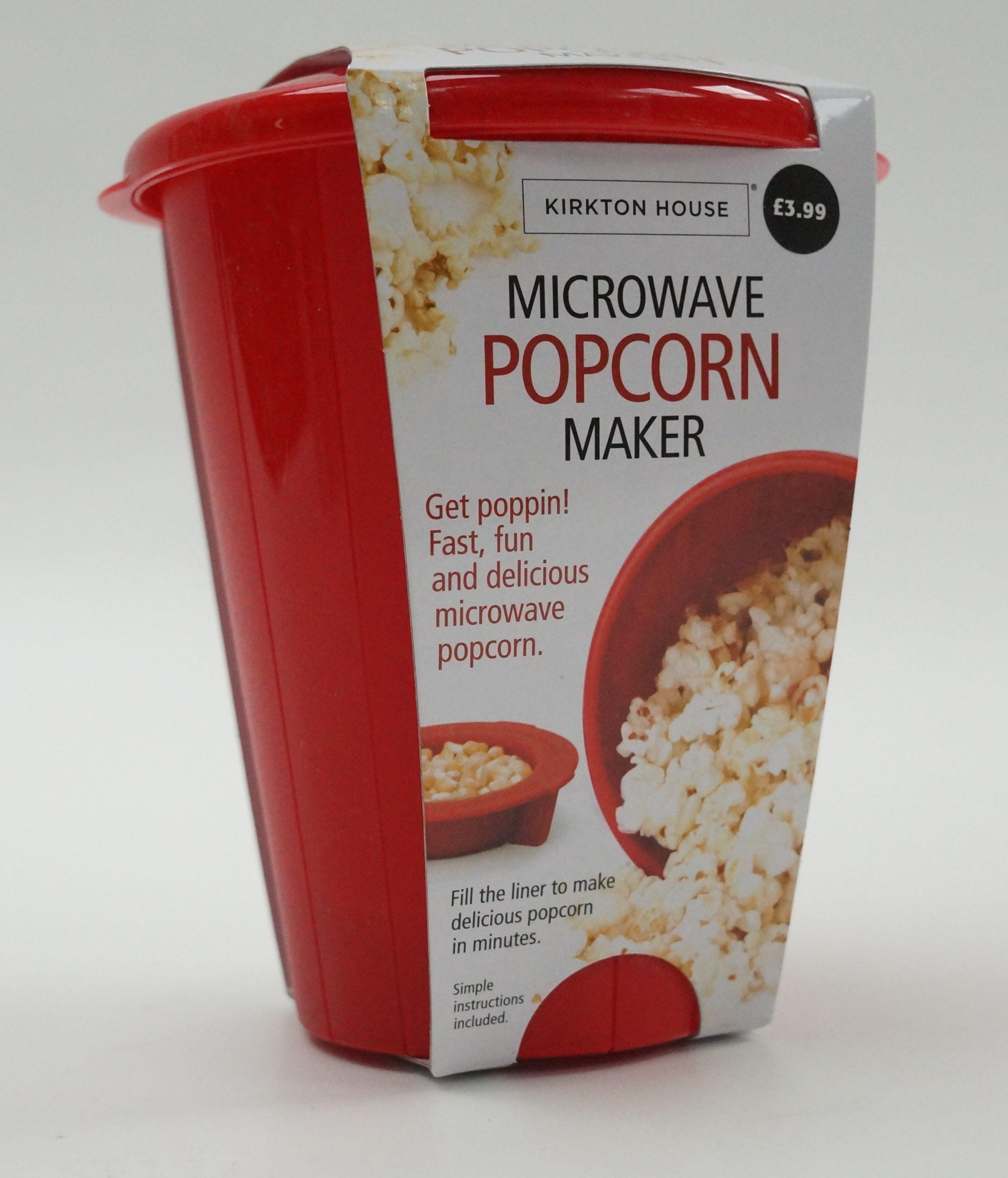 microwave popcorn maker