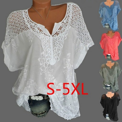Women plus size blouse