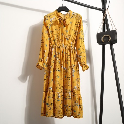Women casual printed dress