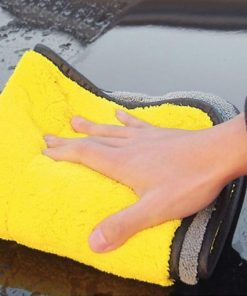 Car polishing microfiber towel