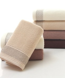 Soft cotton face towel