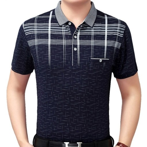 Men Polo Shirts Short Sleeve