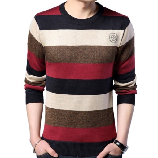 Mens Wool Blended Sweater