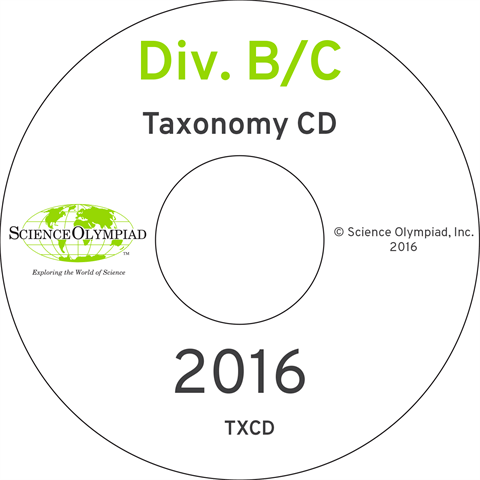 Taxonomy (Both B & C Div.) CD