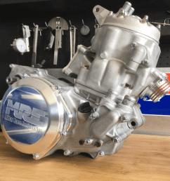 1 oem match honda cr500 complete engine fastener replacement set specbolt [ 960 x 960 Pixel ]