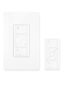 lutron cas ta wireless in wall light dimmer with remote [ 1144 x 1144 Pixel ]