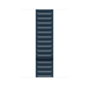 44mm Baltic Blue Leather Link - M/L - Apple (CA)