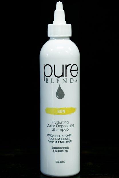 Pure Blends Hydrating Color Depositing Shampoo – Sun | Studio Trio Hair Salon