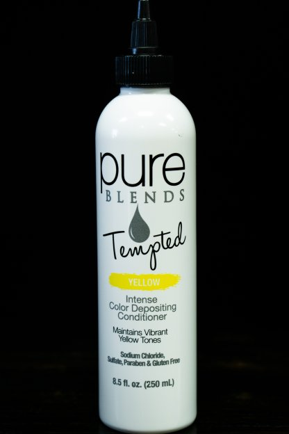 Pure Blends Tempted Intense Color Depositing Conditioner – Yellow   Studio Trio Hair Salon