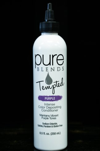 Pure Blends Tempted Intense Color Depositing Conditioner – Purple | Studio Trio Hair Salon