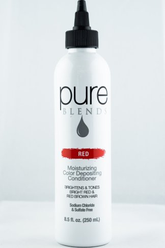 Pure Blends Hydrating Color Depositing Conditioner – Red | Studio Trio Hair Salon