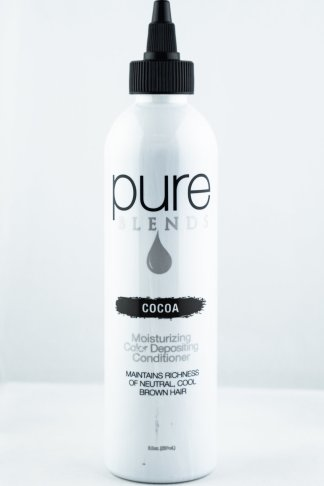 Pure Blends Hydrating Color Depositing Conditioner – Cocoa | Studio Trio Hair Salon