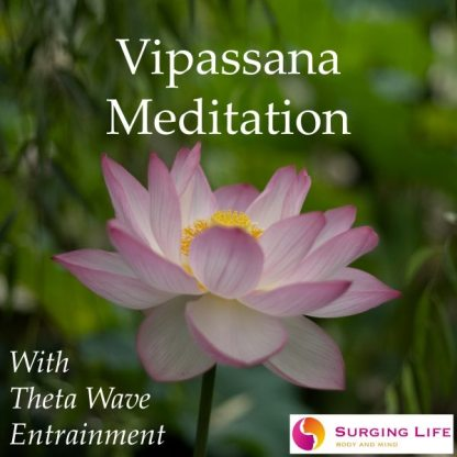 Guided Vipassana Meditation mp3 With Theta Wave Music