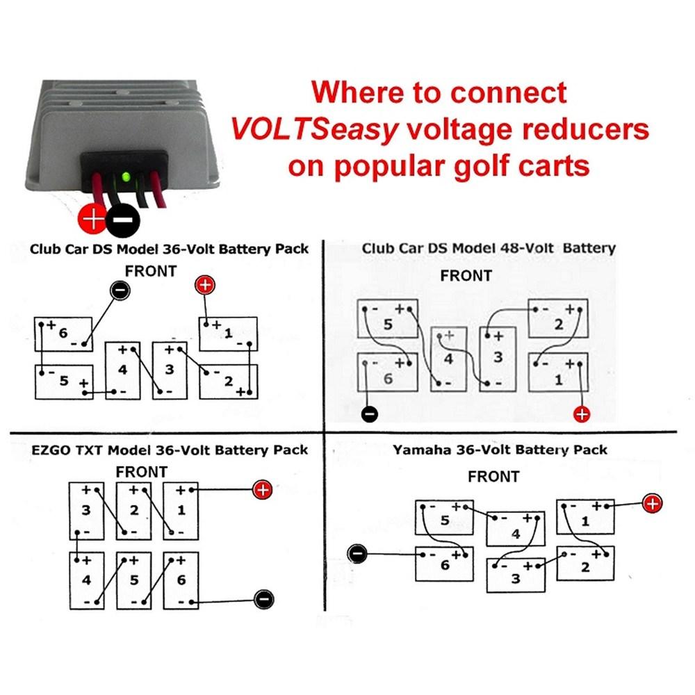 medium resolution of 48 volt wiring diagram reducer wiring diagram schematics golf cart 48 volt ezgo wiring diagram club car 48 volt to 12 volt reducer wiring diagram