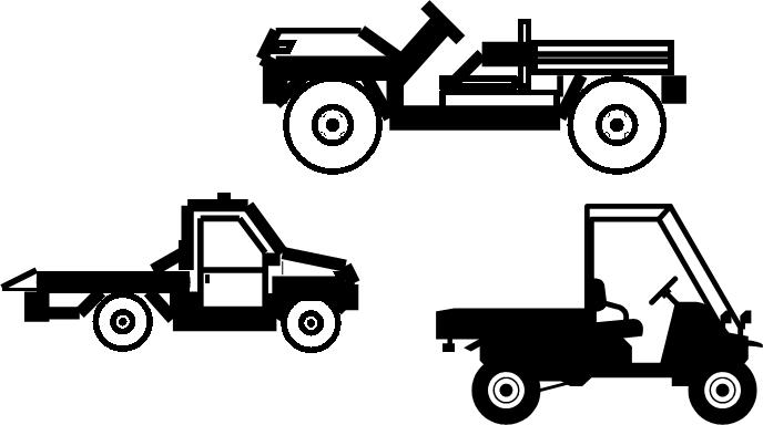 ATV, Personnel & Burden, Utility Carrier, Golf Cart DEVTRA