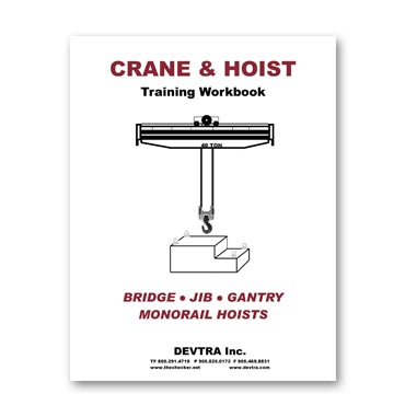 Crane Training Materials, Crane Training program, Crane