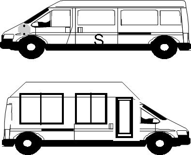 Bus, Motorcoach, Shuttle, School Bus, Handicap Wheelchair
