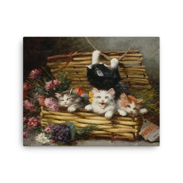 Leon Charles Huber Cat Art Prints and Posters, 16×20