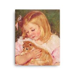 Mary Cassatt Cat Art Print at The Great Cat Store, Mary Cassatt Cat Art