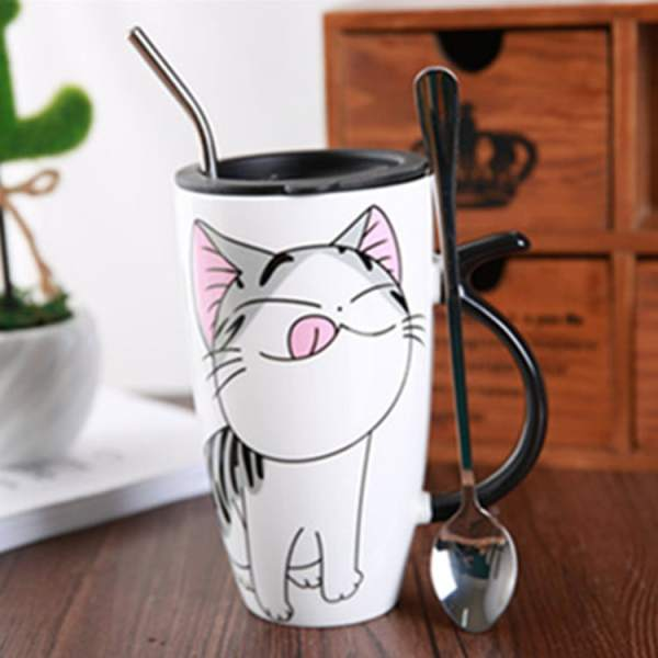 Cute Large Cat Ceramic Coffee Mug With Lid 2417-ktzwvd.jpg