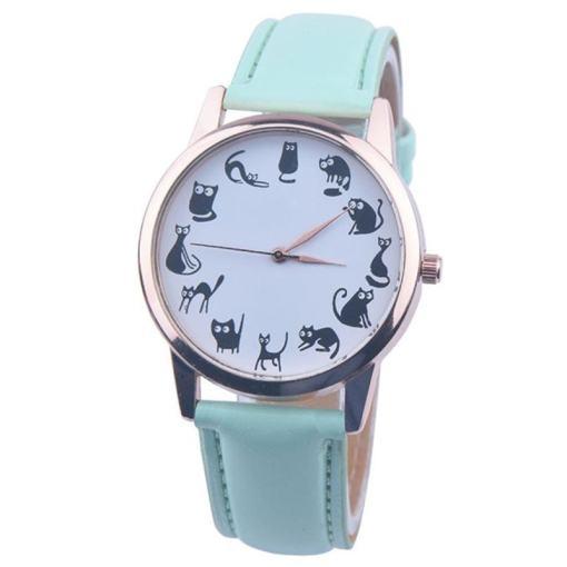 Black Cat Dial Quartz Wrist Watch
