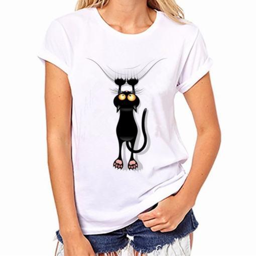 Black Cat, Halloween Variety Women's T-Shirt - Womens T Shirt 001