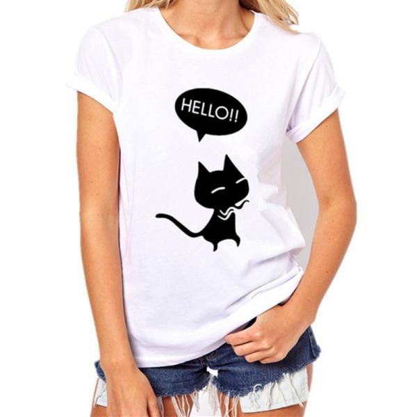 007-Black Cat, Halloween Variety Women's T-Shirt – Womens T Shirt