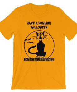 Howling Halloween Short-Sleeve Unisex T-Shirt