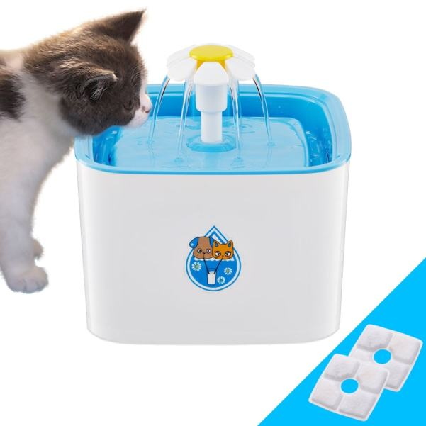 Automatic Cat Water Fountain at the Great Cat Store