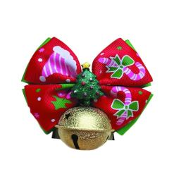 Cat Christmas Belled Bow Tie Collar at The Great Cat Store