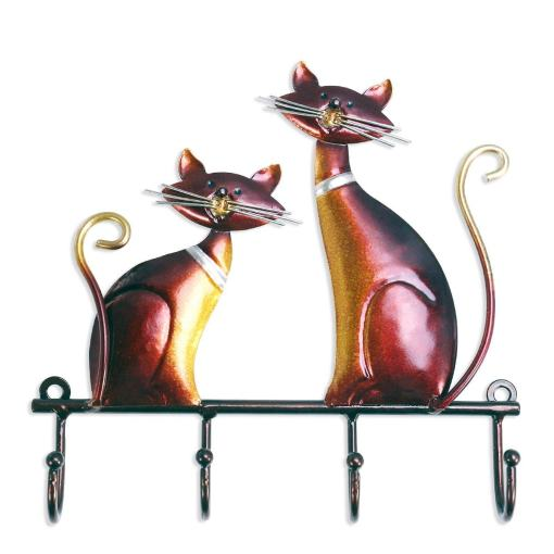 Cat Wall Mounted Coat Keys Hanger at The Great Cat Store