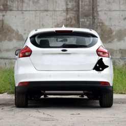Peering Cat Face Car Sticker Decal