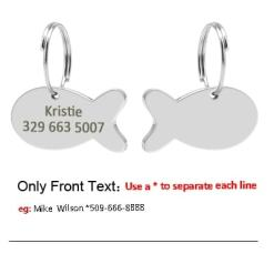 personalized collar tags at The Great CAt Store