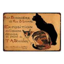 Steinlen cat art prints and posters