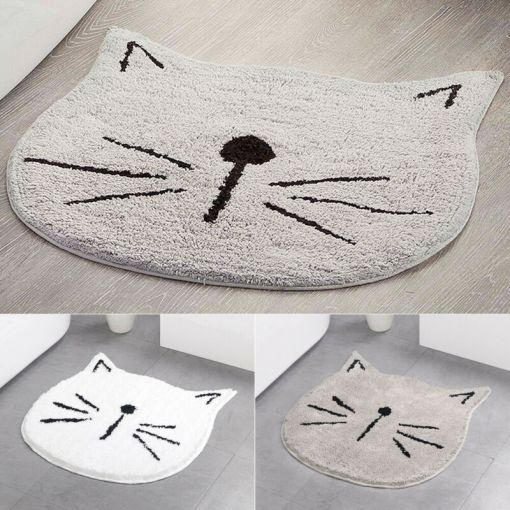 Cat Face Shaped Rug