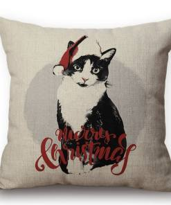 Christmas Cushion Cover at The Great Cat Store