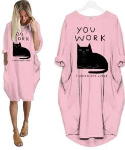 You Work, I Watch and Judge Plus Size T- Shirt