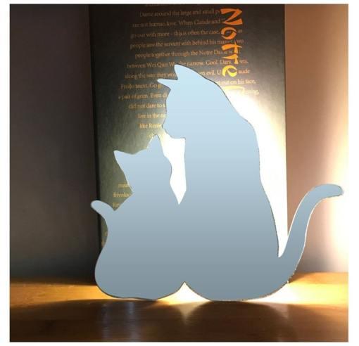 Black Cat LED Auto Control Night Light