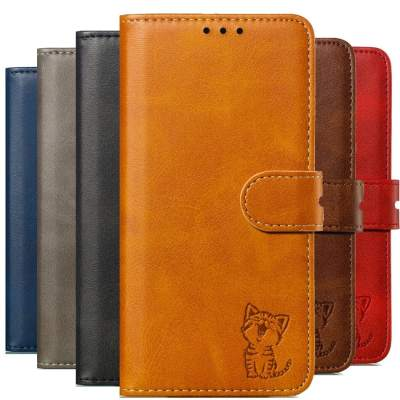 Luxury Samsung Cat Pattern Phone Wallet