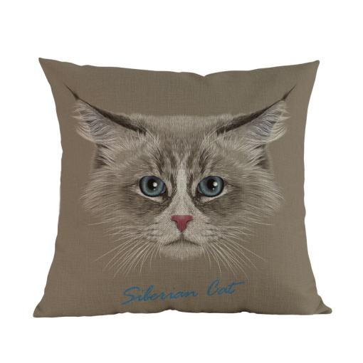 Siberian Cat Cushion