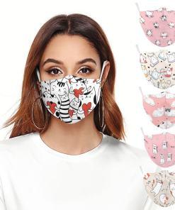 Cute Cat Face Masks