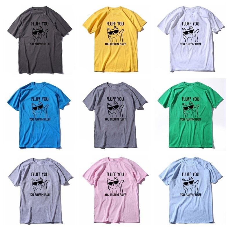 Fluff You Cat T-Shirt