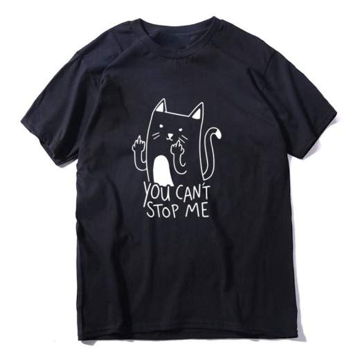 You Can't Stop Me Unisex Cat T-Shirt