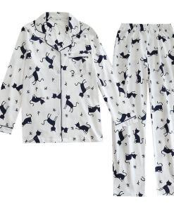 Cotton Cat Design Pajamas