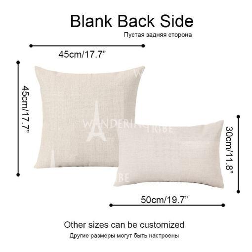 Various Linen Tiger Cushion Pillow Covers
