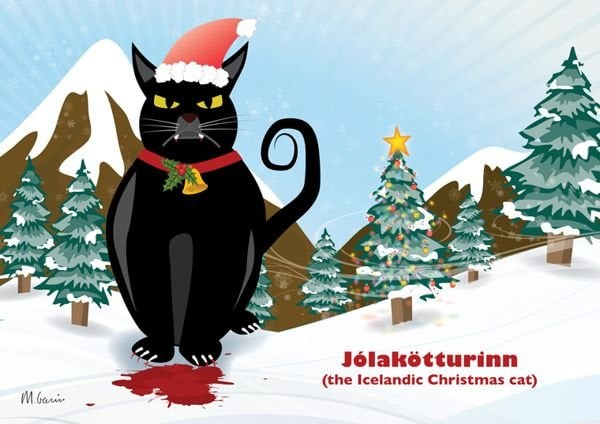 Icelandic Yule Cat at The Great Cat Store